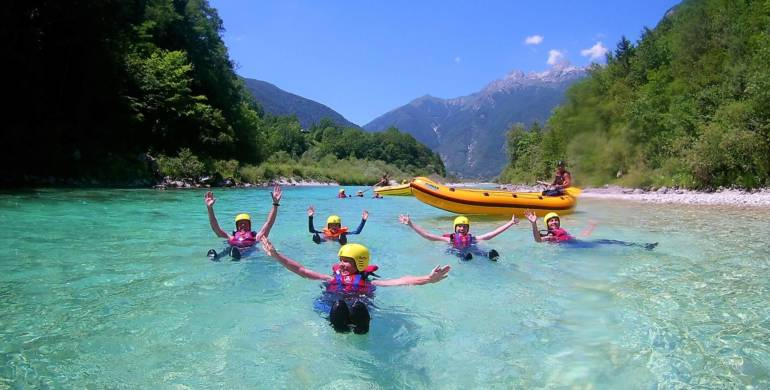 WITH FAMILY IN BOVEC