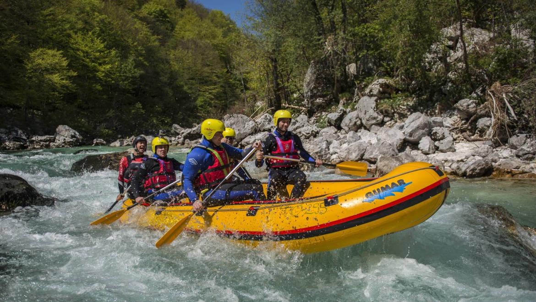 Halbtages rafting